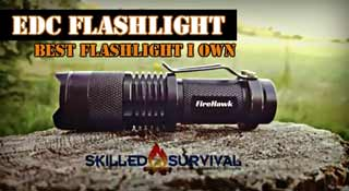 Best EDC Flashlight - FireHawk