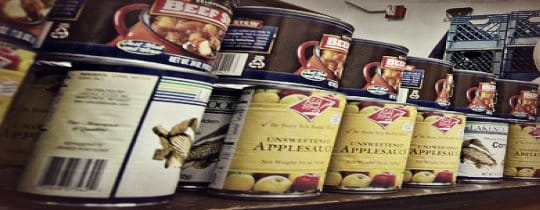 Canned Food Shelf Life Storage
