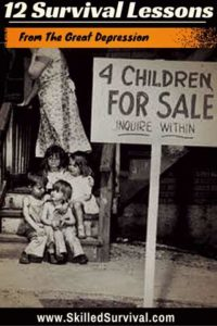 Survival Lessons From The Great Depression