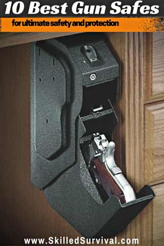 10 Best Gun Safes For Ultimate Access, Safety, and Protection