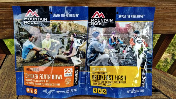 Mountain House Pouches Side By Side