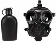 MIRA SAFETY CM-7M MILITARY GAS MASK with Canteen