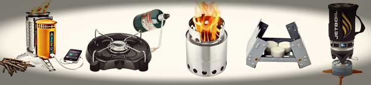 Types Of Portable Stoves
