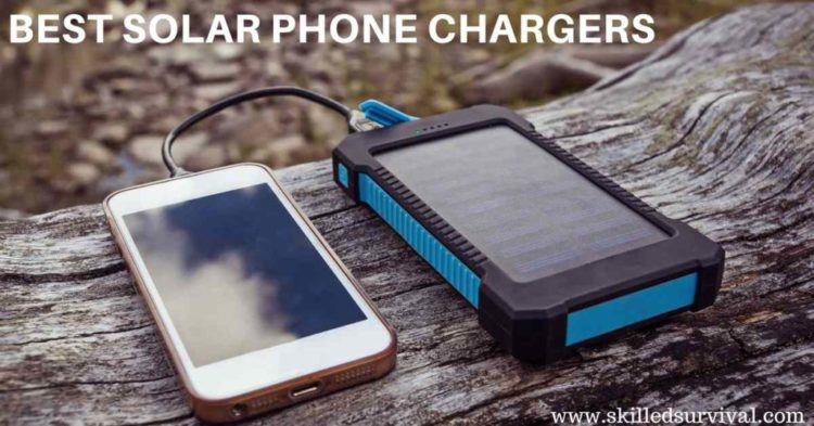 5 Best Solar Phone Chargers On The Market Today